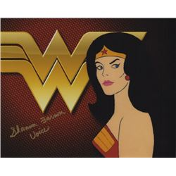 Shannon Farnon the Voice of Wonder Woman Signed Photo from Super Friends