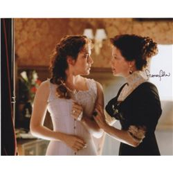 Frances Fisher Signed Photo as Ruth Dewitt Bukater with Kate Winslet from Titanic