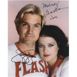 Sam Jones & Melody Anderson Signed Photo from Flash Gordon