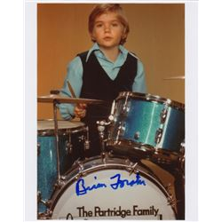 Brian Forster Signed Photo as Chris Partridge from The Partridge Family