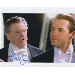 Bernard Fox Signed Photo as Col. Archibald Gracie with Billy Zane from Titanic