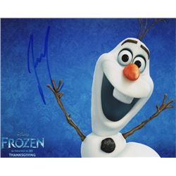 Josh Gad Voice of Olaf Signed Disney's Frozen Photo