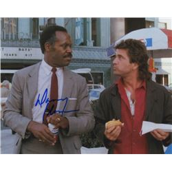 Danny Glover Signed Photo as Roger Murtaugh with Mel Gibson from Lethal Weapon
