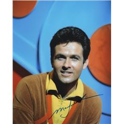 Mark Goddard Signed Photo as Major Don West from Lost in Space