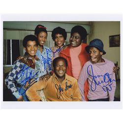 """Good Times 11"""" x 14"""" Signed Cast Photo"""