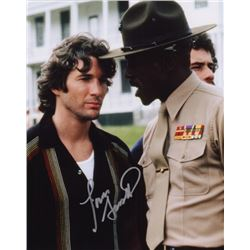 Louis Gossett Jr. Signed Photo with Richard Gere from An Officer and a Gentleman
