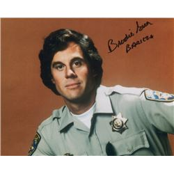 Brodie Greer Signed Photo as Officer Baricza from CHiPs
