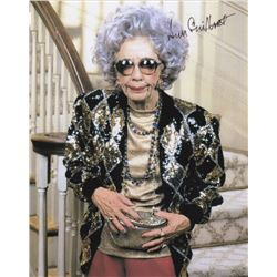 Ann Morgan Guilbert Signed Photo as Grandma Yetta on The Nanny