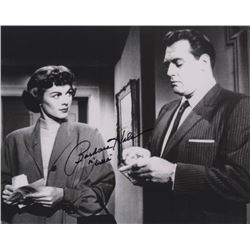 Barbara Hale Signed Photo as Dells Street with Raymond Burr from Perry Mason