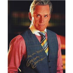 Gregory Harrison Signed Color Photo