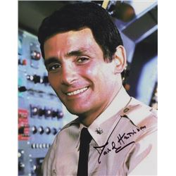 David Hedison Signed Photo as Captain Crane from Voyage to the Bottom of the Sea