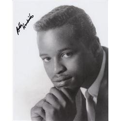 R&B Recording Artist Bobby Hendricks Signed Photo