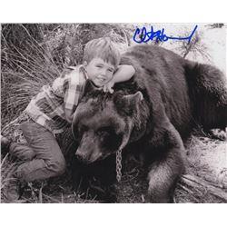 Clint Howard Signed Photo as Mark Wedloe from Gentle Ben