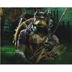 Jeremy Howard Signed Photo as Donatello from Teenage Mutant Ninja Turtles (2014)
