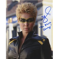 Alaina Huffman Signed Photo as Black Canary from Smallville