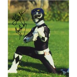 Walter Jones Signed Photo as the Black Ranger from Mighty Morphin Power Rangers