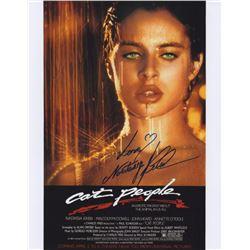 """Nastassja Kinski 11"""" x 14"""" Signed Photo from Cat People"""
