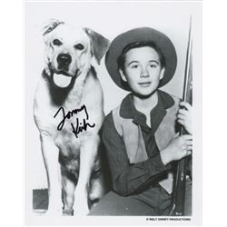 Tommy Kirk Signed Photo as Travis Coates from Disney's Old Yeller