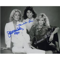 Knots Landing Cast Photo Signed by Joan Van Ark, Michele Lee, & Donna Mills