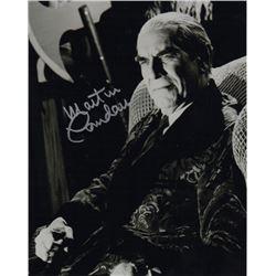Martin Landau Signed Photo as Bela Lugosi from Ed Wood