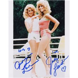 Audrey and Judy Landers Signed Photo