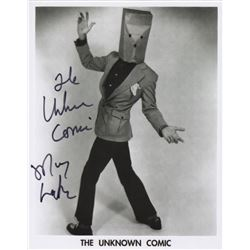 Murray Langston Signed Photo as The Unknown Comic