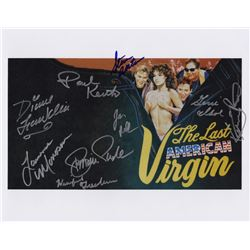 "The Last American Virgin 11"" x 14"" Cast Signed Photo"