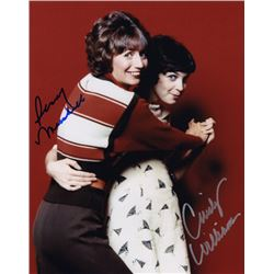 Penny Marshall & Cindy Williams Signed Photo from Laverne & Shirley