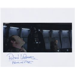Richard LeParmentier Signed Photo Still as Admiral Motti from Star Wars: Episode IV - A New Hope