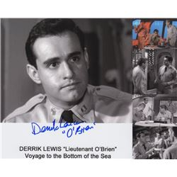 Derrik Lewis Signed Photo as Lt. O'Brien from Voyage to the Bottom of the Sea
