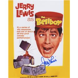 Jerry Lewis Signed Photo from The Bellboy