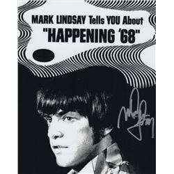 Mark Lindsay of Paul Revere and the Raiders Signed Photo from Happening '68