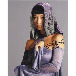 Bai Ling Signed Photo as Senator Bana Breemu from Star Wars: Episode III - Revenge of the Sith