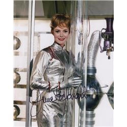 June Lockhart Signed Photo as Maurren Robinson from Lost in Space