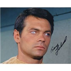 "Gary Lockwood Signed Photo as Gary Mitchell from Star Trek Episode ""Where No Man Has Gone Before"""
