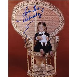Lisa Loring Signed Photo as Wednesday Addams from The Addams Family
