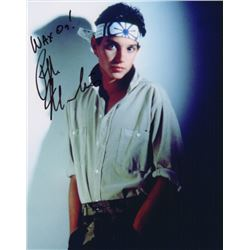 Ralph Macchio Signed Photo as Daniel from The Karate Kid