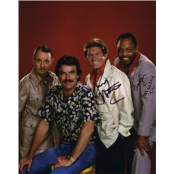 Larry Manetti & Roger E. Mosley Cast Signed Photo from Magnum, P.I.