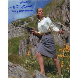 Tania Mallet Signed Photo as Tilly Masterson from Goldfinger