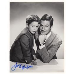 Larry Matthews Signed Photo with Dick Van Dyke from The Dick Van Dyke Show