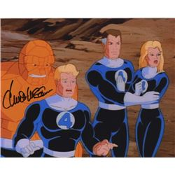Chuck McCann Signed Photo from Fantastic Four Animated Series