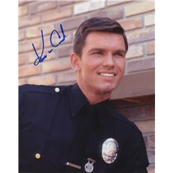 Kent McCord Signed Photo as Officer Jim Reed from Adam-12
