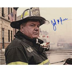 Jack McGee Signed Photo as Schmidt from Backdraft