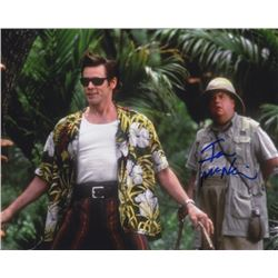 Ian McNeice Signed Photo with Jim Carrey from Ace Ventura: When Nature Calls