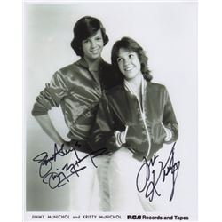 Jimmy & Kristy McNichol Signed Photo