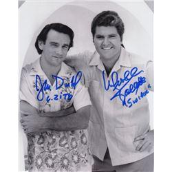 John Diehl & Michael Talbott Signed Photo from Miami Vice