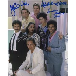 Miami Vice Photo Signed by 4 Cast Members