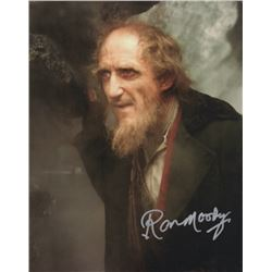 Ron Moody Signed Photo as Fagin from Oliver!