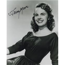 Terry Moore Signed Photo