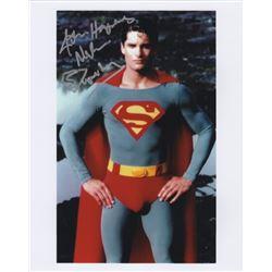 John Haymes Newton Signed Photo as Superboy